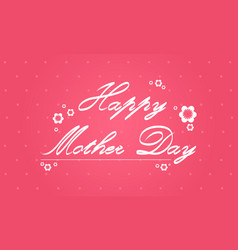 Collection card mother day background vector