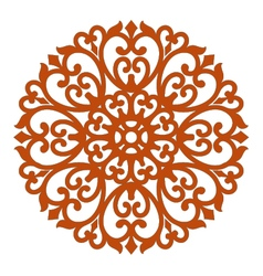 filigree ornament vector image