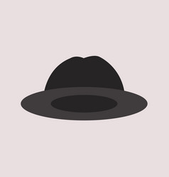 hat icon vector image