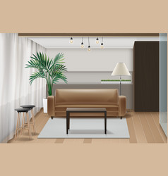 interior design vector image
