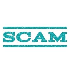 Scam Watermark Stamp vector