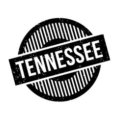 tennessee rubber stamp vector image