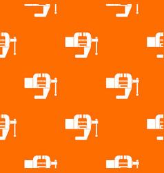 Vise tool pattern seamless vector