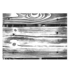 Wood texture white black wooden planks pattern vector
