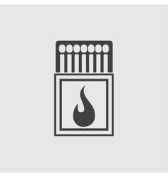 Matchbox icon vector image