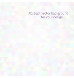Abstract background Stylized flat design Airy vector image