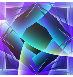 Abstract photo objective glowing colorful 3d vector