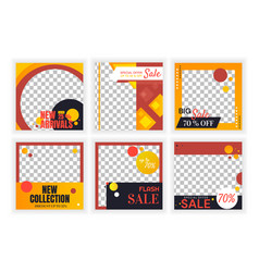 banners for goods vector image