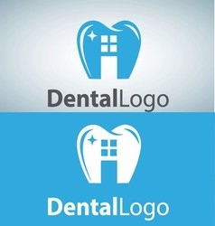 dental logo 9 vector image