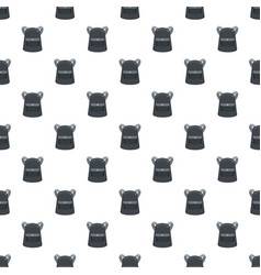 emmo backpack pattern seamless vector image
