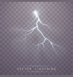 lightning flash bolt vector image