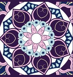 Mandala decoration spiritual oriental mystical vector