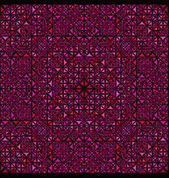 pink repeating kaleidoscope pattern background vector image