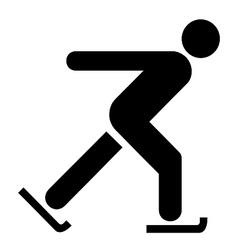 Skating Symbol vector image