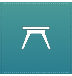 Small table icon sign and button vector