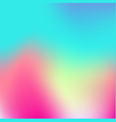 Soft color gradient background holographic vector