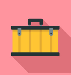 tool box icon flat style vector image