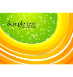 vector abstract bright colorful background vector image