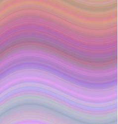 Smooth gradient wave background in pastel tones vector image vector image