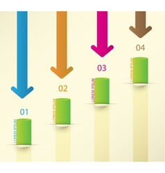 Different Way Infographics Set vector image vector image