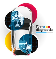 Car Diagnostic vector image