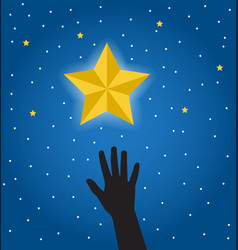 desire to get a star vector image