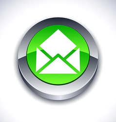 E-mail 3d button vector