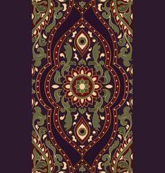 oriental floral pattern vector image