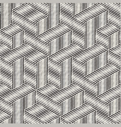 seamless abstract hand drawn pattern freehand vector image