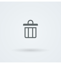 Simple minimalist icon with the image of the vector image