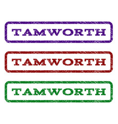 Tamworth watermark stamp vector