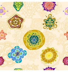 tracery pattern and background vector image