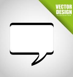 balloon icon de vector image