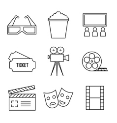 line icons vector image vector image