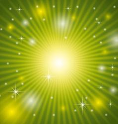 Green background design vector image vector image