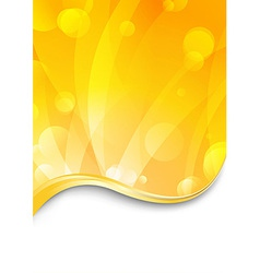 Luxury flare - shimmering background vector image