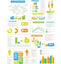 INFOGRAPHIC DEMOGRAPHICS NEW STYLE TOY vector image