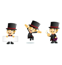 Magician 1 vector image vector image