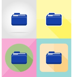 service flat icons 24 vector image vector image