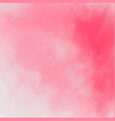 abstract pink stylish watercolor texture vector image