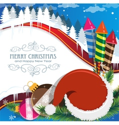Christmas celebration vector image