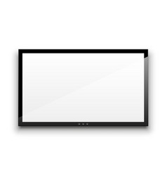 empty tv vector image