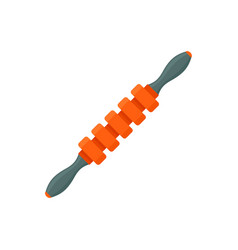 Massage stick icon flat style vector