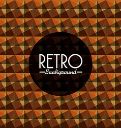 Retro background vector