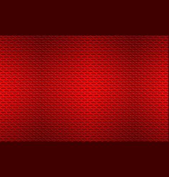 structured red perforated metal texture aluminium vector image