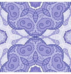 violet lace seamless pattern vector image