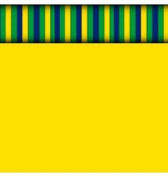 Abstract patterns of color flag of Brazil vector image vector image