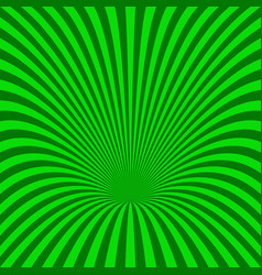 Curved radial stripe background - from curved rays vector