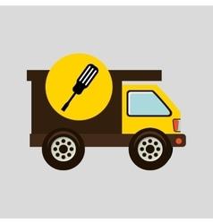 construction gear icon screwdriver vector image vector image