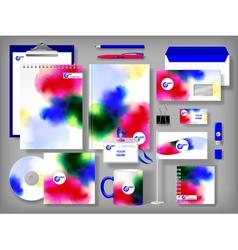 Design corporate templates vector image